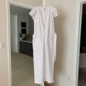 White Rustic Jumpsuit